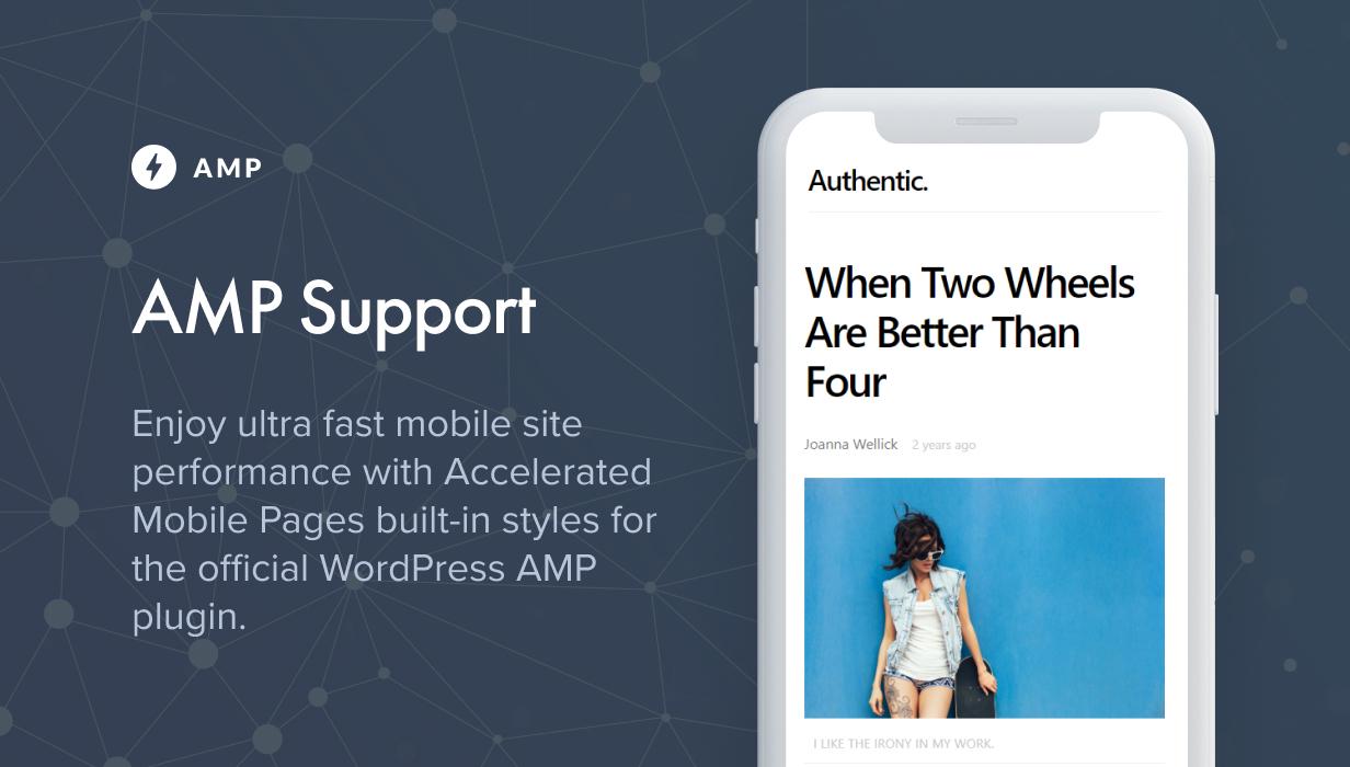 دعم AMP