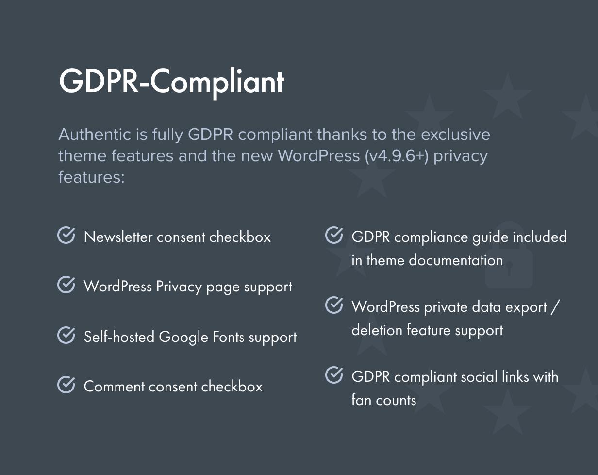 الامتثال للقانون العام لحماية البيانات (GDPR)