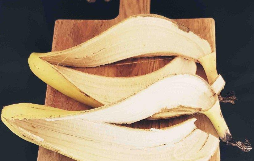 تطبيق قشر الموز للشعر