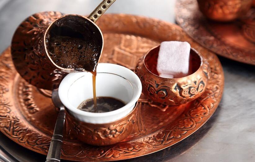 القهوة التركية - خدعة 1