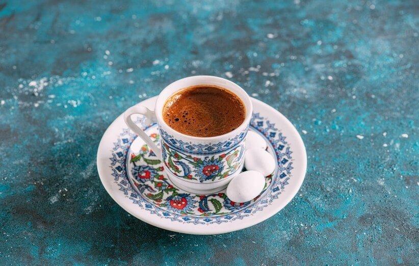القهوة التركية - طريقة التحضير