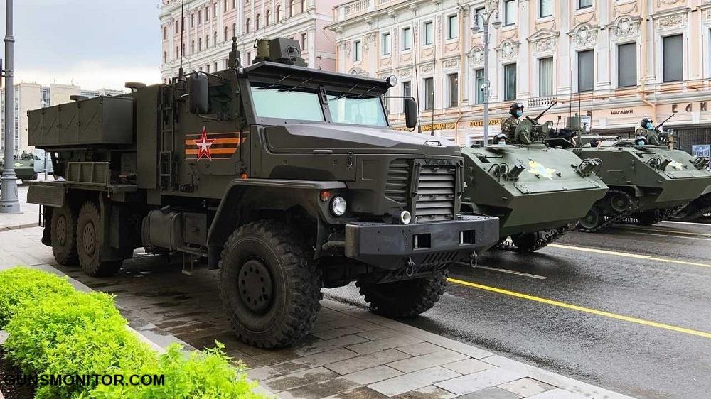 1619907463 905 المركبات العسكرية الأكثر جاذبية في استعراض يوم النصر لعام 2020 أكو وب