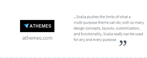 سكاليا - عمل متعدد المفاهيم ، تسوق ، صفحة واحدة ، سمة مدونة - 24