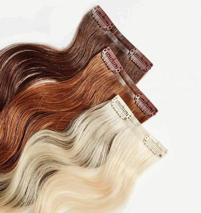 أنواع وصلات الشعر