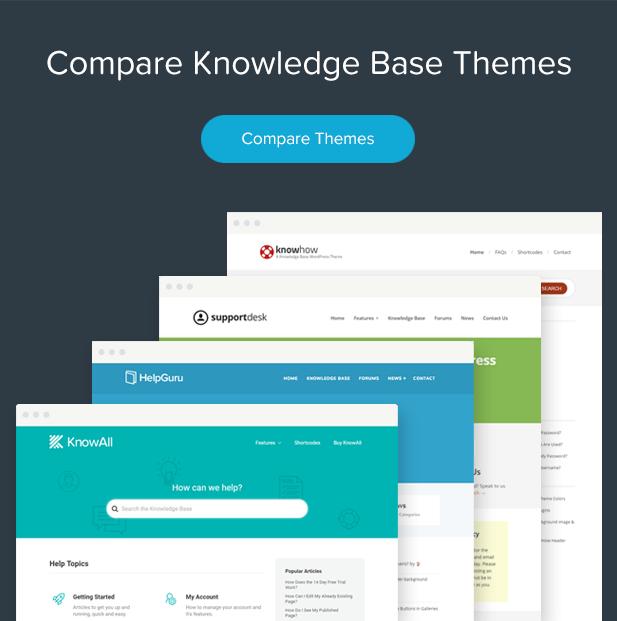 KnowHow - سمة WordPress لقاعدة المعرفة - 10