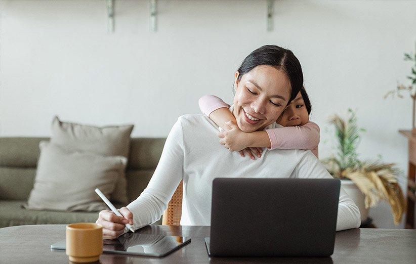 التخطيط للأمهات العاملات