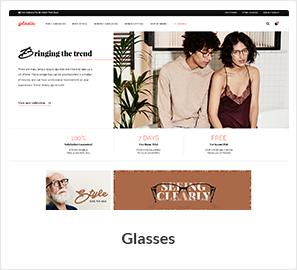 نظارات متجر WooCommerce موضوع