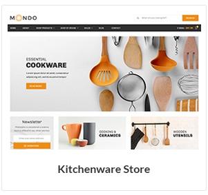 متجر أدوات المطبخ WooCommerce Theme