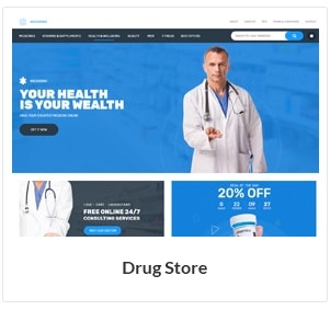 موضوع WooCommerce متجر الأدوية