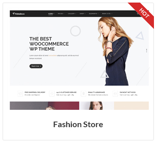 موضوع متجر الأزياء WooCommerce