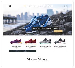 متجر الأحذية WooCommerce الموضوع