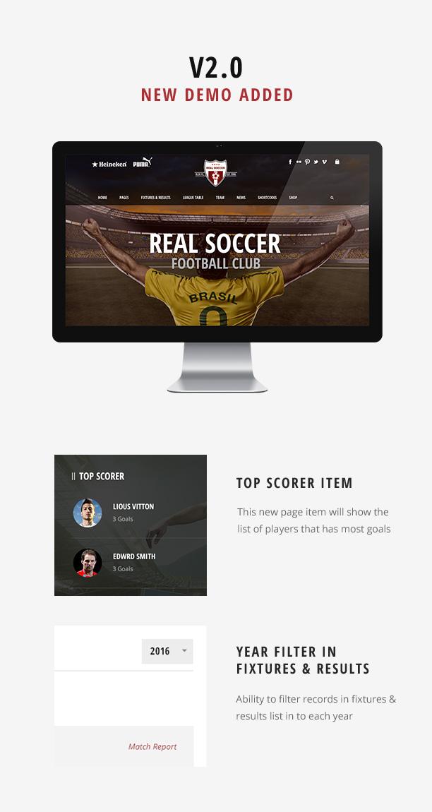 كرة القدم الحقيقية - نوادي رياضية وورد - 2