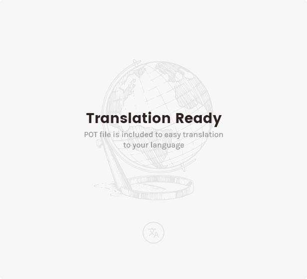 جاهزة للترجمة: تم تضمين ملفات .po و .mo لتسهيل الترجمة إلى لغتك