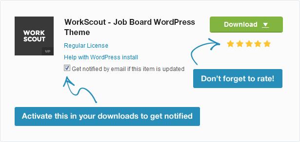 WorkScout - موضوع وورد لوحة الوظائف - 30