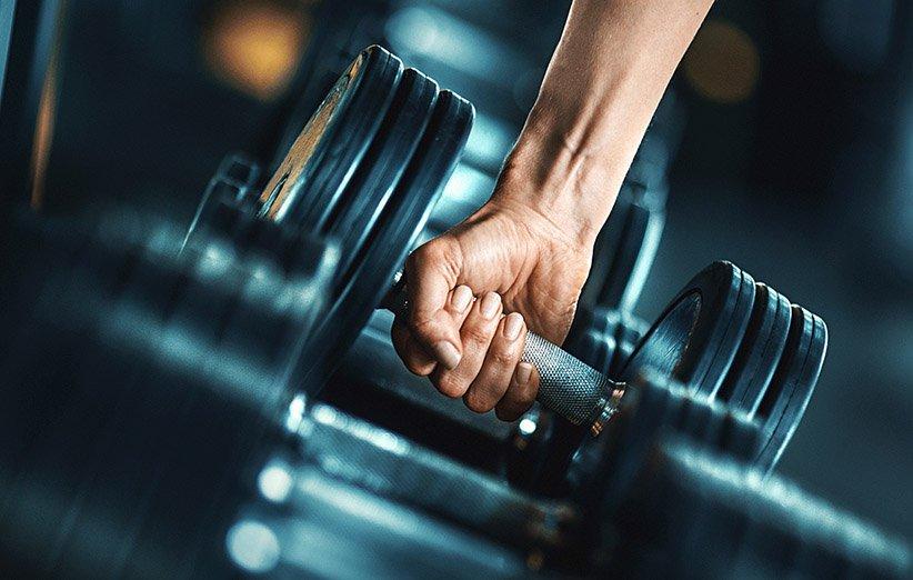 أوزان لبناء العضلات