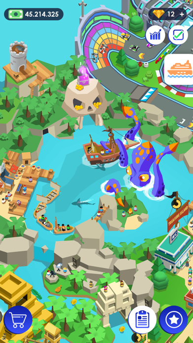 1620372983 745 Idle Theme Park لعبة التاجر أكو وب