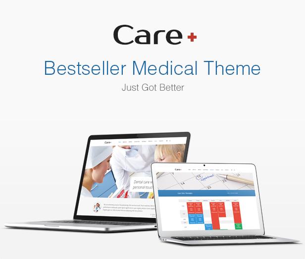 الرعاية - موضوع التدوين الطبي والصحي WordPress - 7