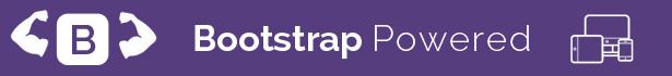 يتم تشغيل الشبكة المستجيبة بواسطة إطار عمل bootstrap