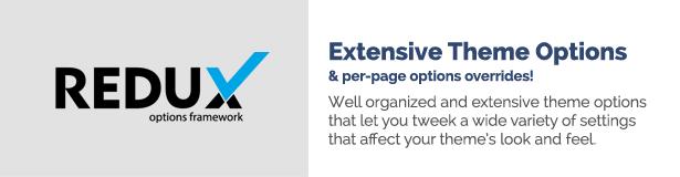 تتجاوز خيارات النسق الشاملة لكل صفحة خيارات!  خيارات موضوع جيدة التنظيم وشاملة تتيح لك عدة إعدادات متنوعة تؤثر على مظهر مظهرك ومظهره.