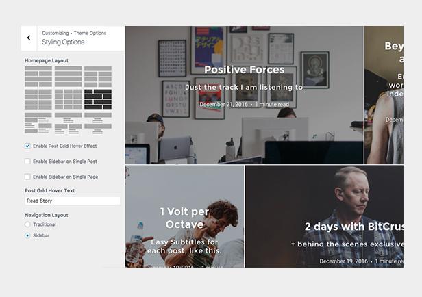 Ink - سمة تدوين WordPress لإخبار القصص - 4