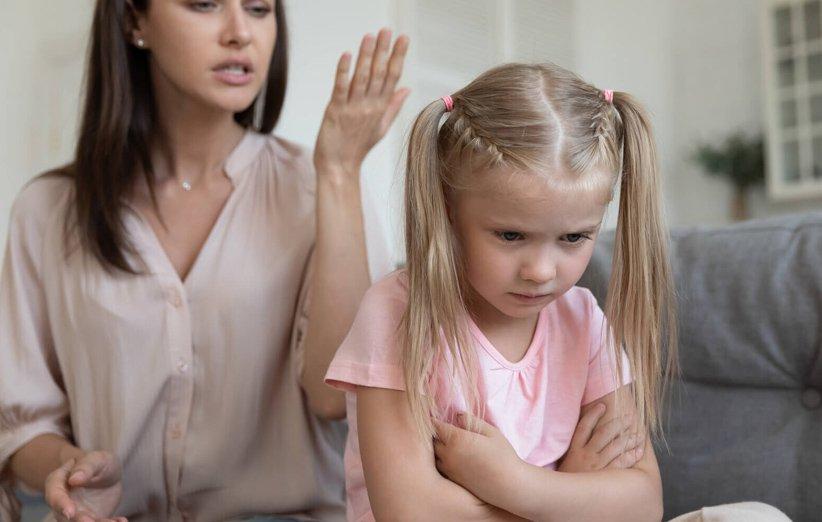 إلقاء اللوم على الطفل