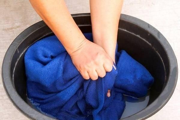 غسل البطانيات