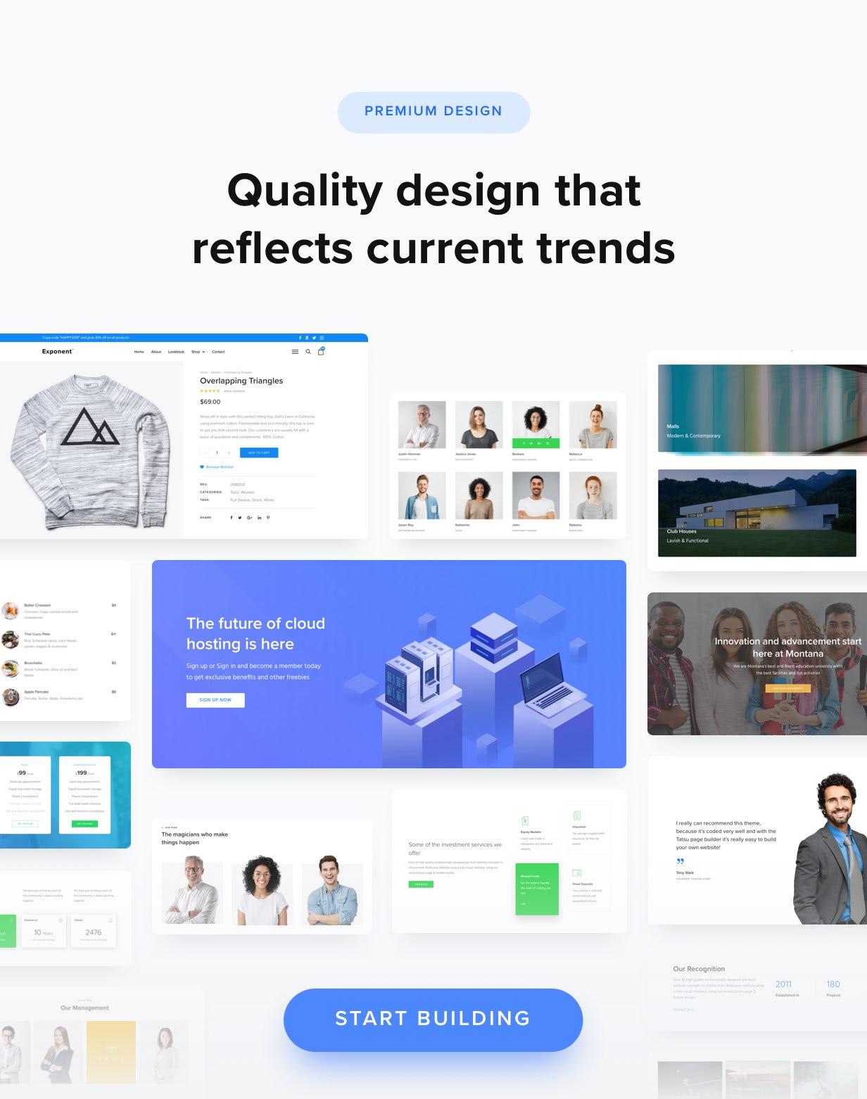 100+ تخطيطات تصميم عالية الجودة