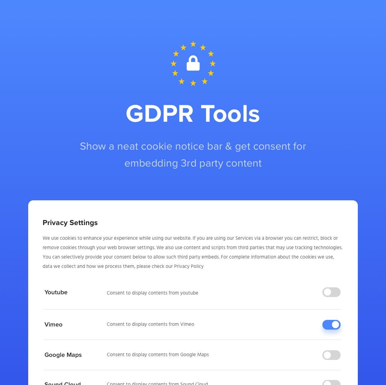 أدوات اللائحة العامة لحماية البيانات
