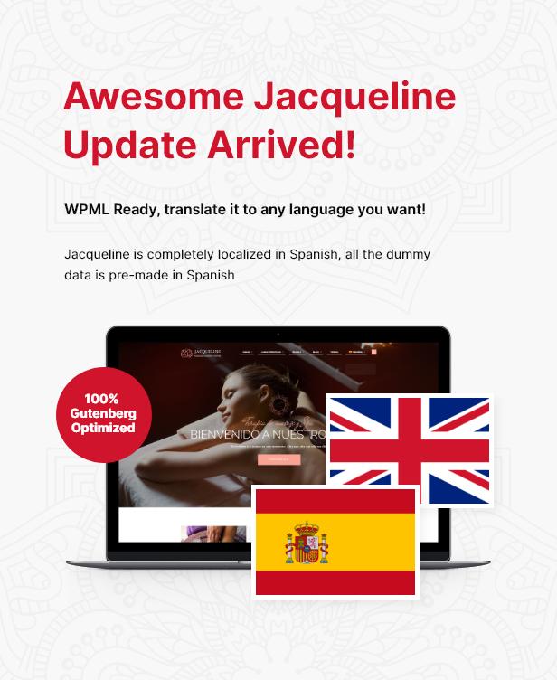 جاكلين الترجمة الاسبانية + تحديث جوتنبرج