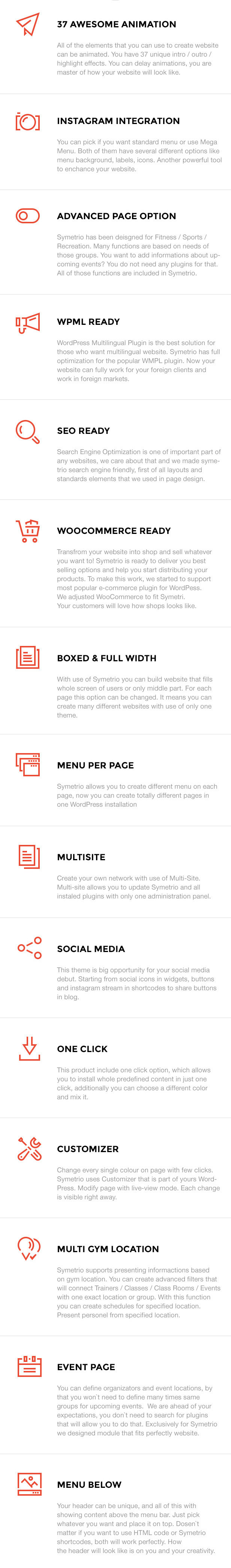 Symetrio - سمة WordPress للجيم واللياقة البدنية - 5