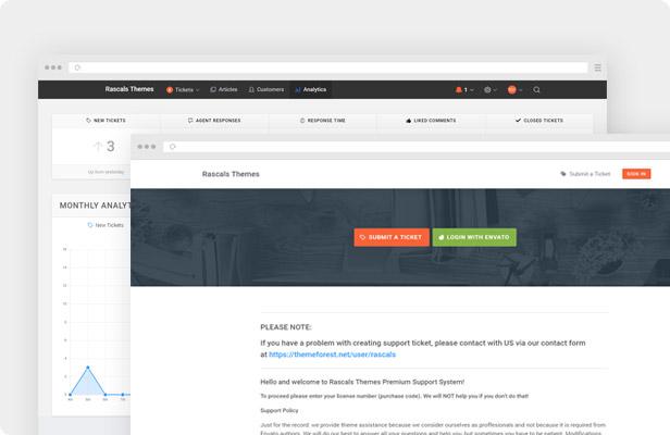 موضوع Epron WordPress - الدعم
