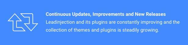 التحديثات والتحسينات والإصدارات الجديدة المستمرة
