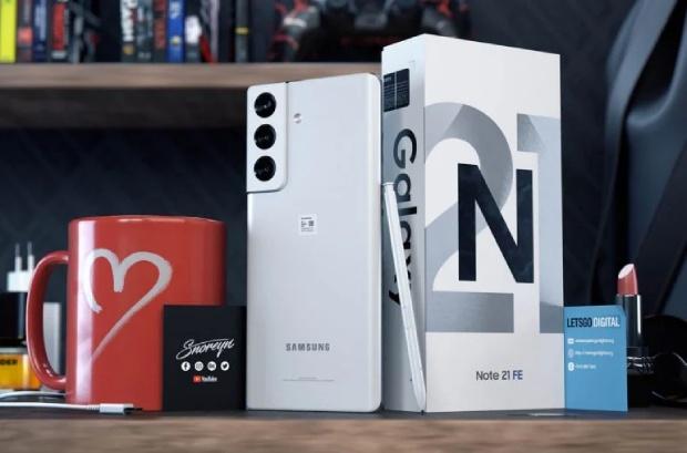 تقديم مفهوم Galaxy Note 21 FA