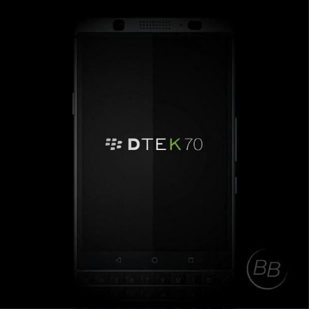 تم الكشف عن عروض جديدة لبلاك بيري ميركوري ؛  هل سيكون هذا DTEK70؟