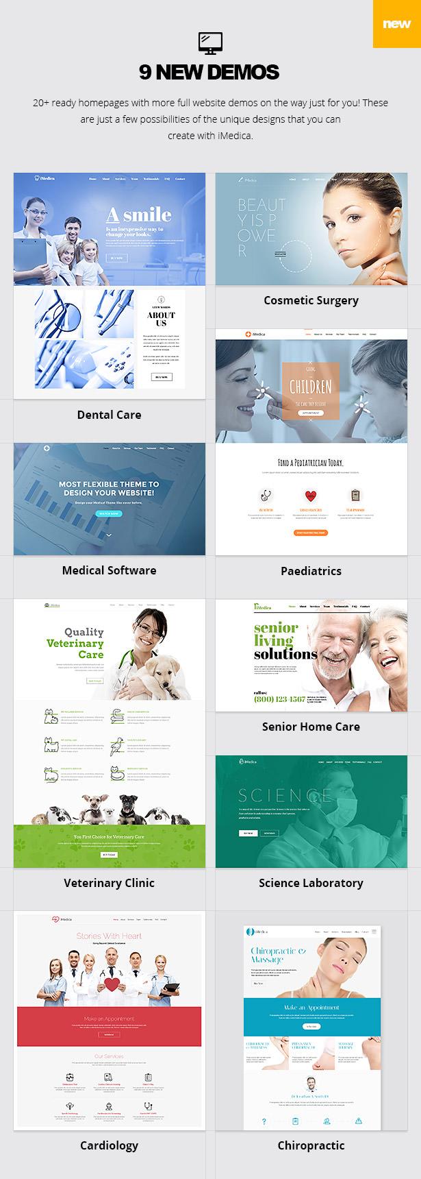iMedica - سمة WP الطبية والصحية المستجيبة - 13