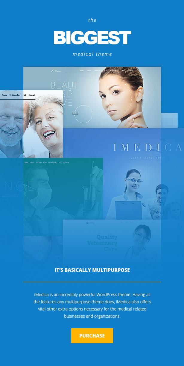 iMedica - سمة WP الطبية والصحية المستجيبة - 11