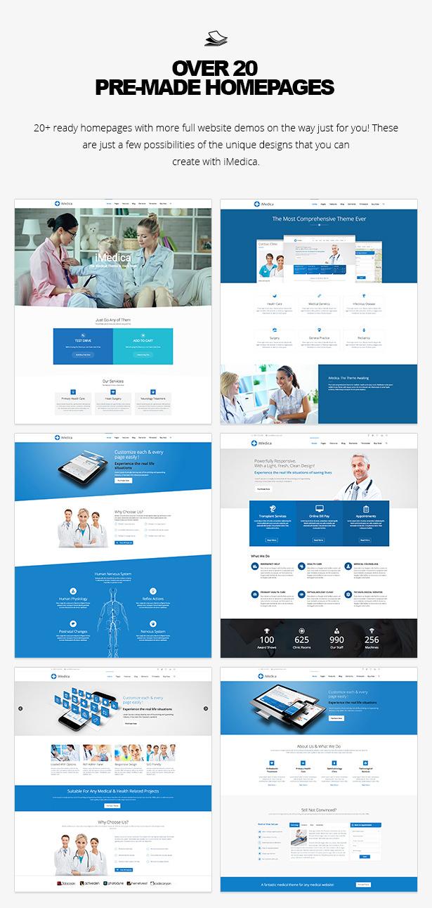 iMedica - سمة WP الطبية والصحية المستجيبة - 15