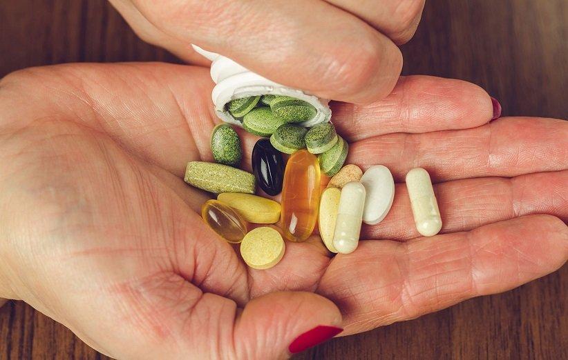 استهلاك الفيتامينات المتعددة
