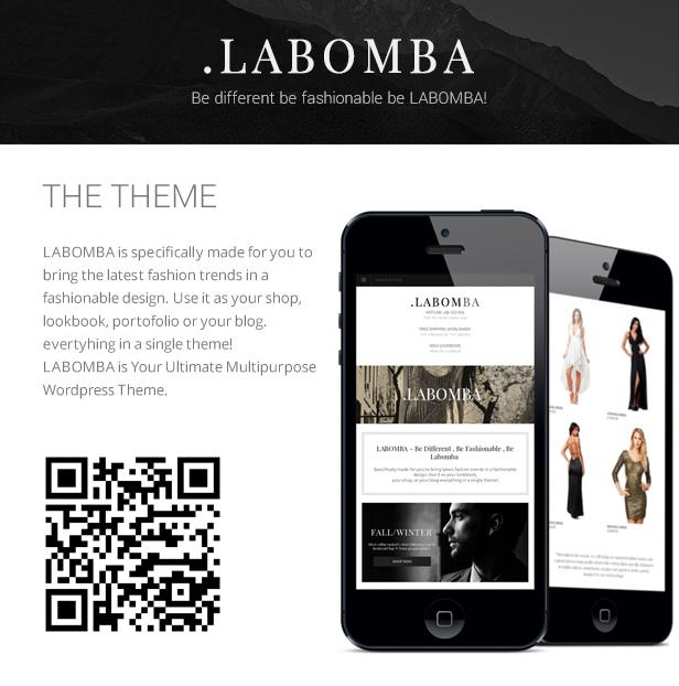 Labomba - سمة ووردبريس متعددة الأغراض مستجيبة - 20