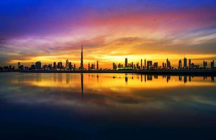 مساء في دبي