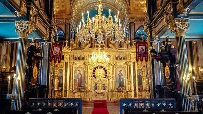 منظر للكنيسة
