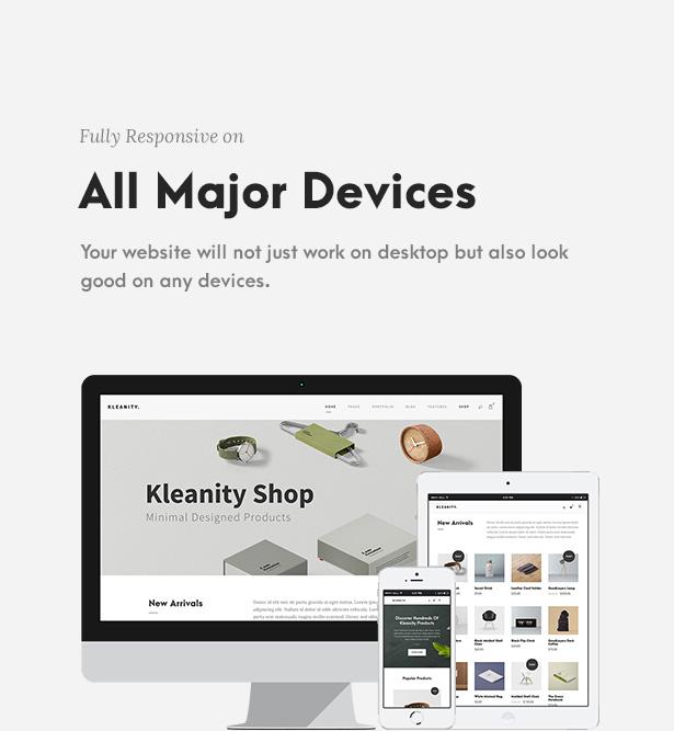Kleanity - سمة WordPress بسيطة / محفظة إبداعية - 7