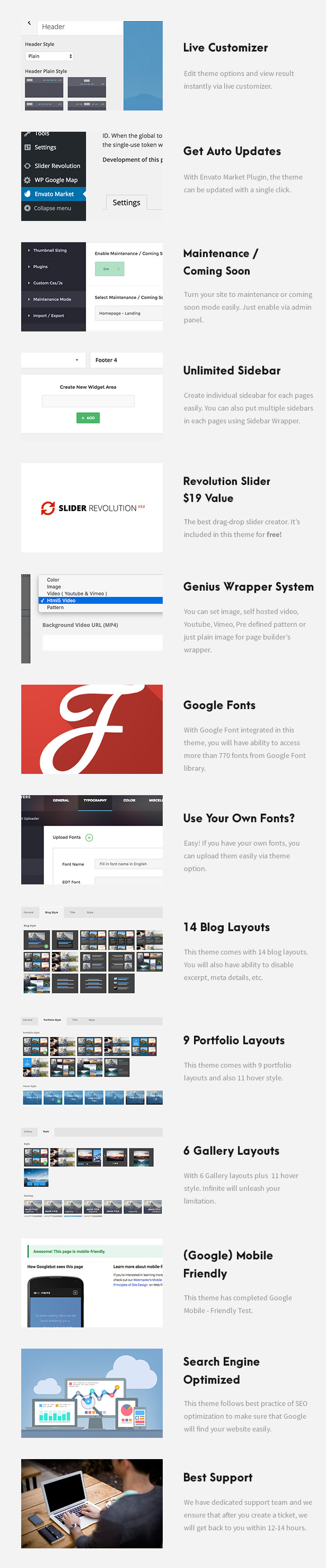 Kleanity - سمة WordPress بسيطة / محفظة إبداعية - 10