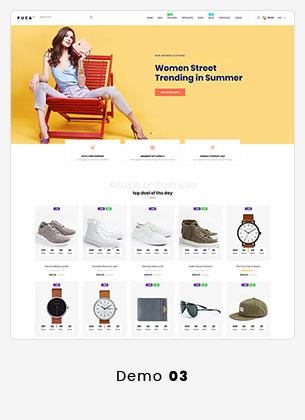 Puca - سمة WooCommerce للجوّال محسّنة - 18