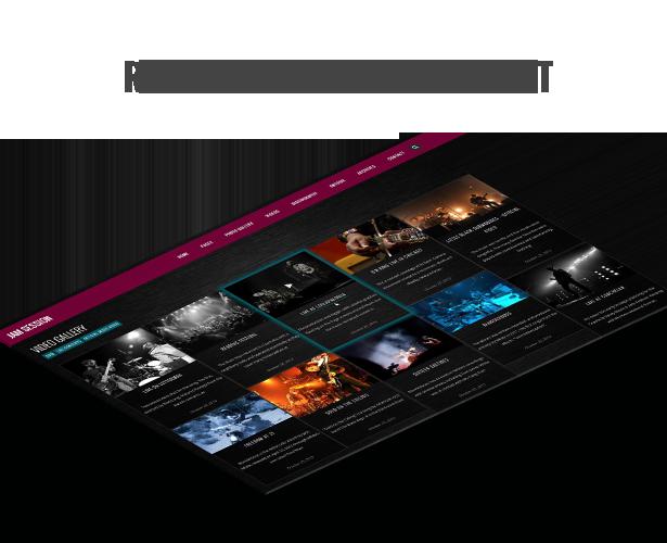 موضوع وورد الموسيقى - JamSession - Masonry