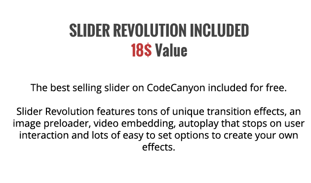 WordPress Music Theme - JamSession - Revolution Slider