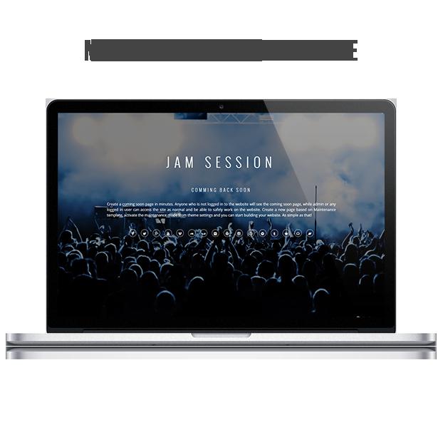 WordPress Music Theme - JamSession - الصيانة