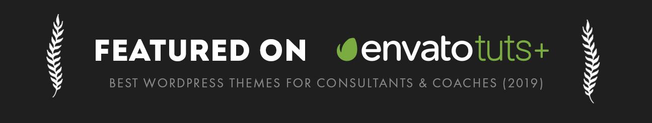تم عرض سمة موضوع Efor Coaching على إنفاتو توتس بلس كواحد من أفضل سمات ووردبريس للمدربين والمستشارين 2019