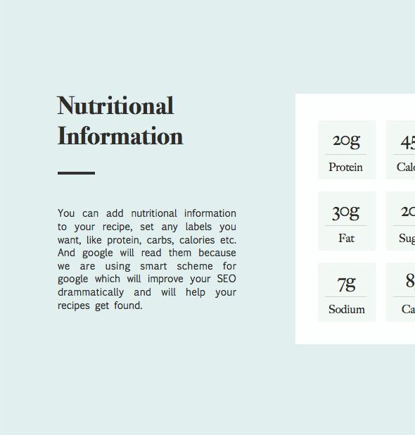 نبتون - موضوع للمدونين والطهاة وصفات الطعام - 6