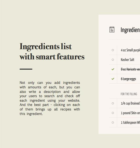 نبتون - موضوع للمدونين والطهاة وصفات الطعام - 5